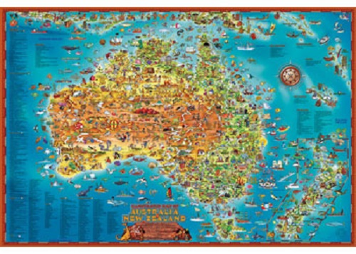 Map Of Australia Jigsaw Puzzle.Arb Games Jigsaw Puzzles Puzzles By Piece Count 300 Piece