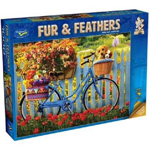 Fur & Feathers: Pedal Pups Adventure