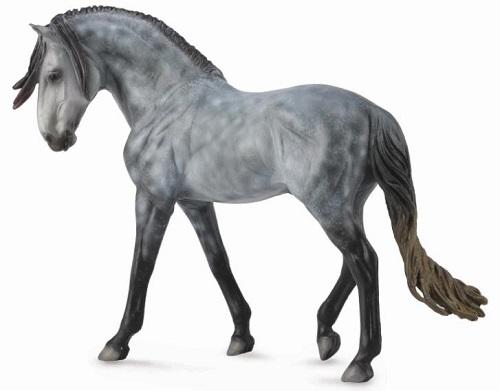 1:12 Scale Andalusian Stallion Dapple Grey