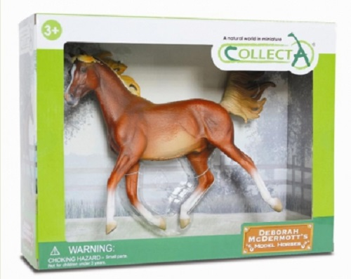 1:12 Scale Arabian Stallion Chestnut