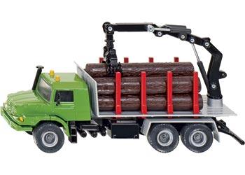 Mercedes Benz Zetros Log Transporter