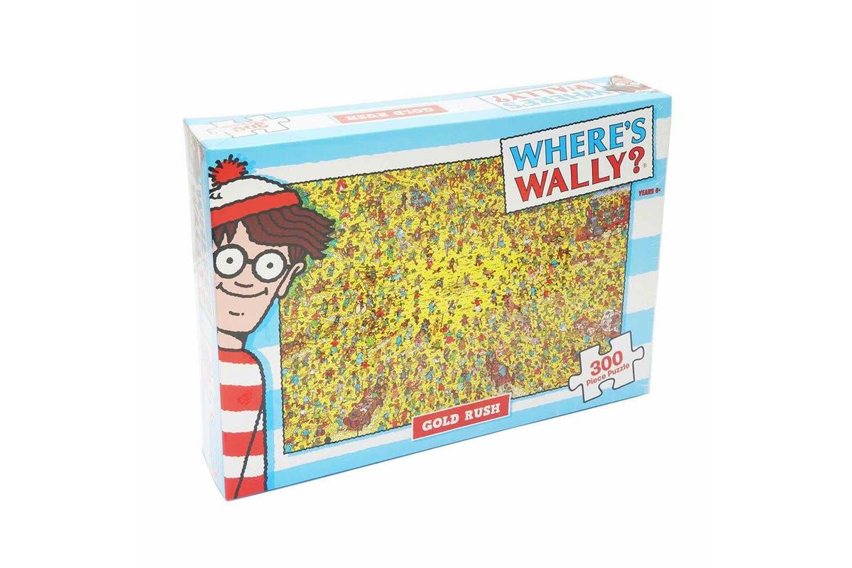 Where's Wally: Gold Rush