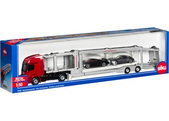 Car Transporter With Two Cars