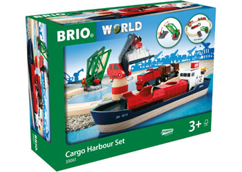 Cargo Harbour Set 16 Pieces