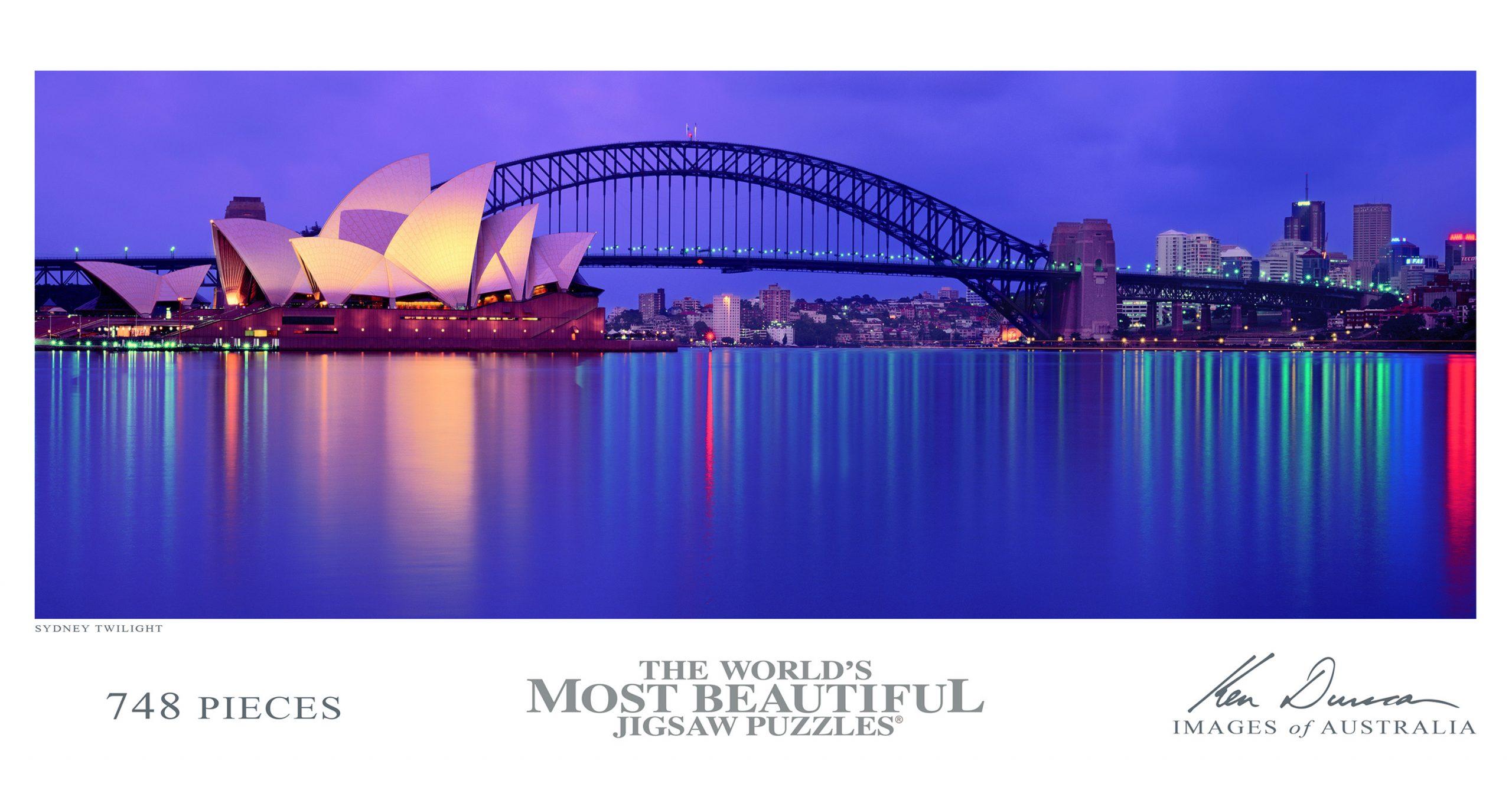 Ken Duncan Images Of Australia - Sydney Twilight