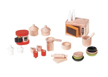 Plan Toys Dollhouse Furniture - Kitchen & Tableware