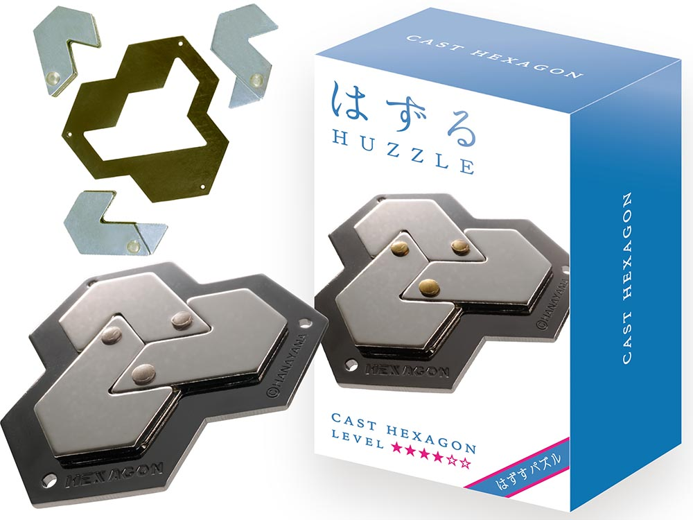 Hanayama Level 4 Cast - Hexagon