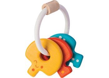 Plan Toys Baby Toy - Key Rattle