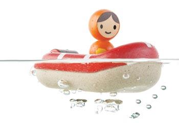 Plan Toys Coastguard Boat & Driver