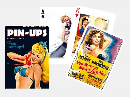 Themed Playing Cards - Pin Ups