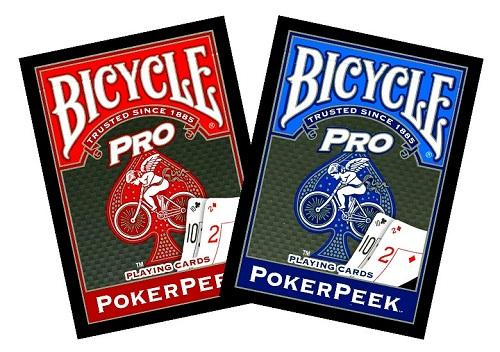 Bicycle Poker Pro Poker Peek