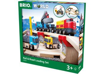 Rail & Road Loading Set 32 Pieces