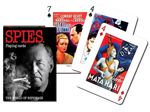 Themed Playing Cards - Spies