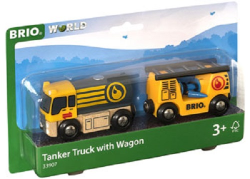Tanker Truck With Wagon
