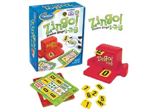 Zingo Number Bingo 1-2-3
