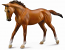 1:12 Scale Thoroughbred Mare Chestnut