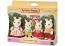 Chocolate Rabbit Family