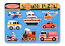Wooden Sound Puzzle - Vehicles