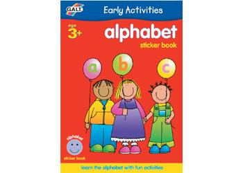 Sticker Book - Alphabet