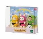 Limited Edition Baby Trio Ninja