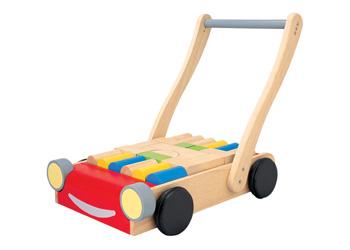 Plan Toys Walker With Blocks