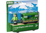 Trains - Cargo Engine With Driver