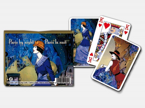 Themed Playing Cards - Paris By Night