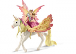 Fairy Feya With Pegasus Unicorn