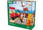 Firefighter Train Set 18 Pieces