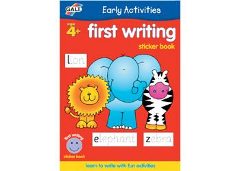 Sticker Book - First Writing