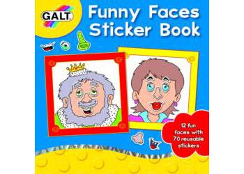 Sticker Book - Funny Faces