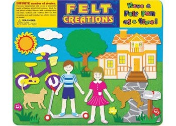 Felt Creations - Bicycle & Scooter Fun
