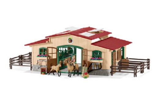 Horse Stable With Accessories