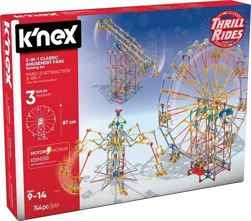 Knex 3-In-1 Classic Amusement Park