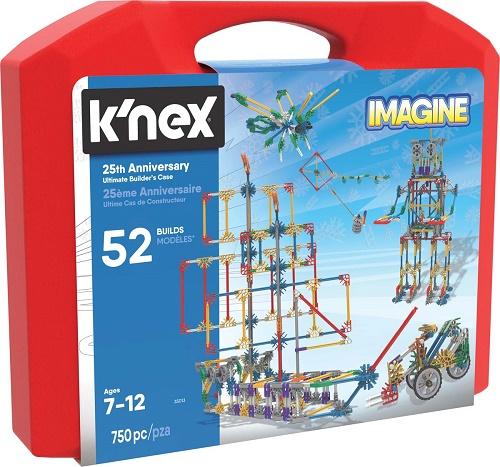 Knex 25th Anniversary Ultimate Builders Case