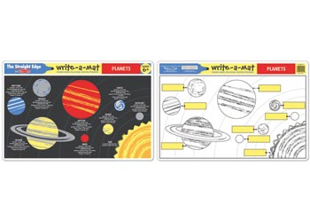 Learning Mat - The Planets