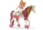 Mermaid Feya Riding Unicorn