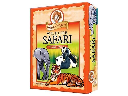 Professor Noggin's Wildlife Safari Card Game