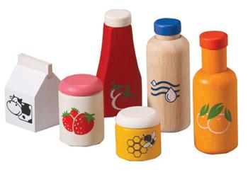 Plan Toys Food & Beverage Set