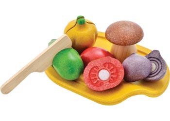 Plan Toys Assorted Vegetables Set