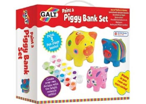 Galt Activity Pack - Paint A Piggy Bank Set