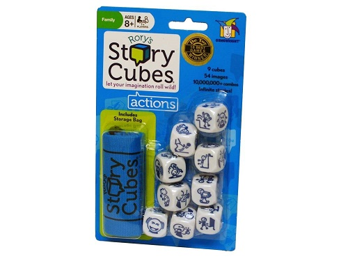 Rory's Story Cubes Actions Hangsell Pack