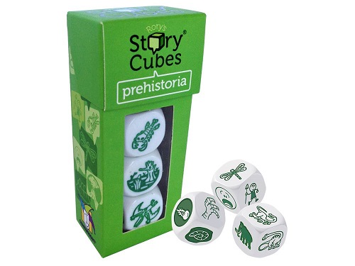 Rory's Story Cubes Prehistoria Pack