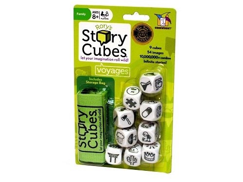 Rory's Story Cubes Voyages Hangsell Pack