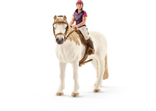 Horse & Rider Set - Recreational Rider With Horse