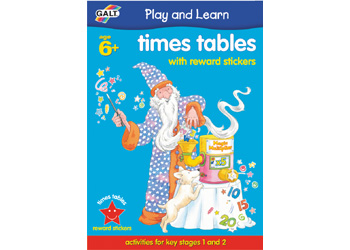 Sticker Book - Times Tables