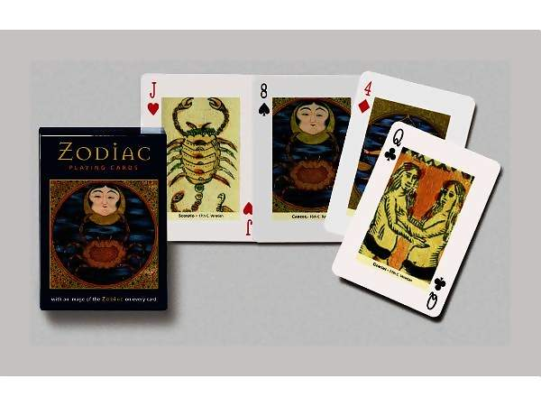 Themed Playing Cards - Zodiac